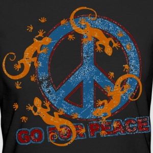 GO FOR PEACE | Frauenshirt organic - Frauen Bio-T-Shirt