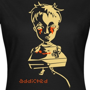 addicted nintendo T-Shirts - Frauen T-Shirt