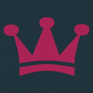 Crown - King - Queen - Prince - winner - Champion - Men's T-Shirt