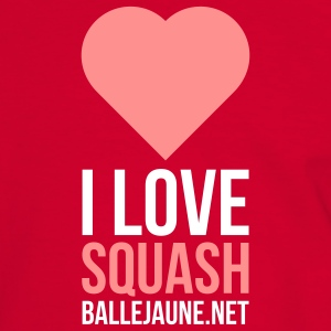 i-love-squash T-shirts - T-shirt contraste Homme