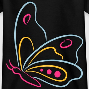 Butterfly - Teenager-T-shirt