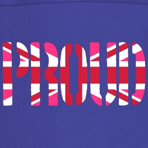 Gay Proud Great Britain flag, Rosa brittiska flagg - Förkläde