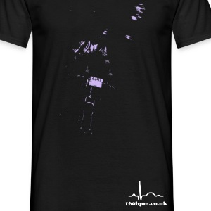 Night Riding 160bpm.co.uk - Men's T-Shirt