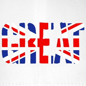 Great Britain flag, britiske flag, Union Jack, UK  - Flexfit baseballcap