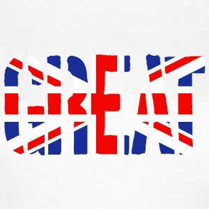 Great Britain Flag, British Flag, Union Jack, UK F - Women's T-Shirt
