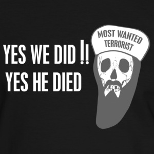 Yes we did T-Shirts - Männer Kontrast-T-Shirt