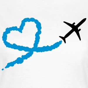 LOVE IS IN THE AIR T-Shirts - Frauen T-Shirt