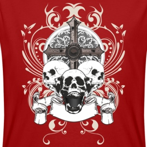 skulls and cross eco t-shirt - T-shirt ecologica da uomo