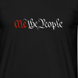 Me the People + logo - Men's T-Shirt