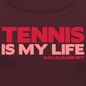 tennis-is-my-life T-shirts - T-shirt col rond U Femme