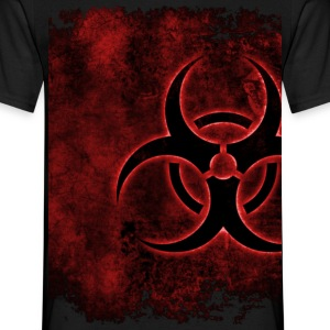 Biohazard Red - Männer T-Shirt