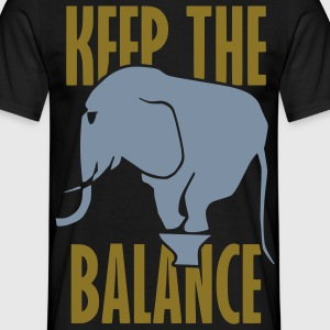 Keep The Balance - T-shirt herr