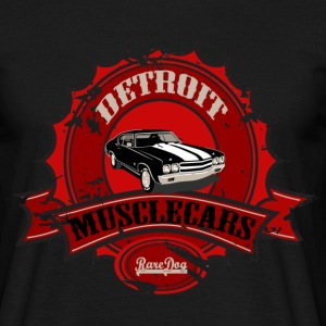 Detroit Chevelle T-shirts - Herre-T-shirt