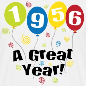 1956 A Great Year T-Shirts - Männer T-Shirt