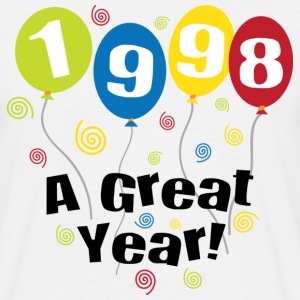 1998 A Great Year T-Shirts - Männer T-Shirt