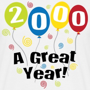 2000 A Great Year T-Shirts - Männer T-Shirt