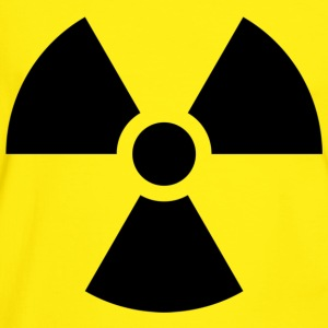 Radiation Sign - Men's Ringer Shirt