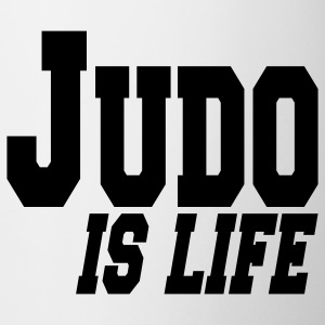 judo is life Muggar - Mugg
