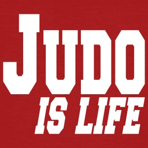 judo is life T-Shirts - Men's Organic T-shirt