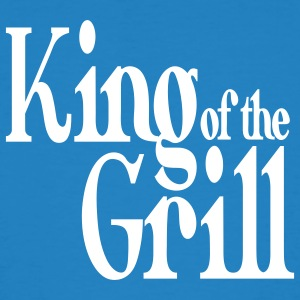 king of the grill Camisetas - Camiseta ecológica hombre