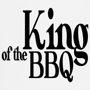 king of the bbq Grembiuli - Grembiule da cucina