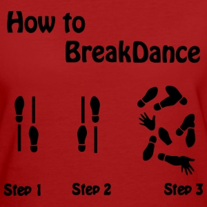 Comment Breakdance  T-shirts - T-shirt Bio Femme