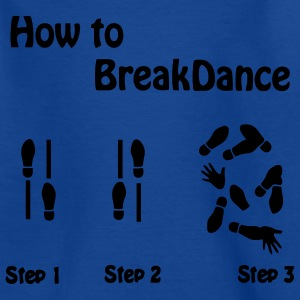 How to Breakdance Kids' Shirts - Teenage T-shirt