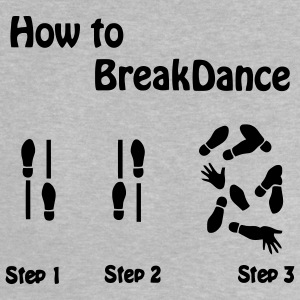 How to Breakdance Baby T-Shirts - Baby T-Shirt