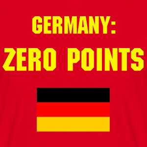 Germany Zero Points 3 - Männer T-Shirt