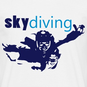 skydiving_1 T-Shirts - Men's T-Shirt