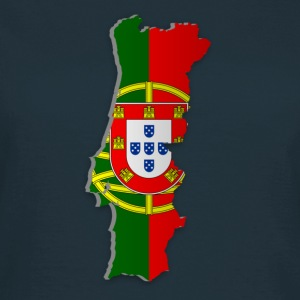 Map of Portugal 2 - Frauen T-Shirt