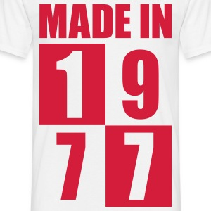 Made In 1977 T-Shirts - Männer T-Shirt