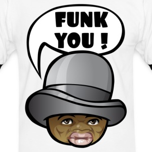 Funk you ! - T-shirt contraste Homme
