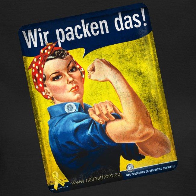 Wir packen das! Motiv We can Do it! T-Shirt