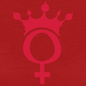 Lady queen - Vrouwen Bio-T-shirt