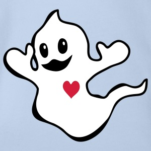 Ghost Baby Bodysuits - Organic Short-sleeved Baby Bodysuit