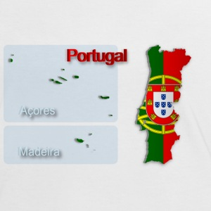 Map of Portugal 2.5 - Women's Ringer T-Shirt