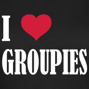 i_love__groupies T-Shirts - Frauen T-Shirt