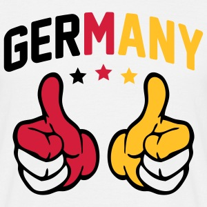 Germany Thumbs Up T-Shirts - Männer T-Shirt