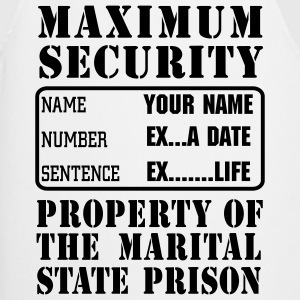 Prisoner, Marriage State Prison, personalise for s - Cooking Apron