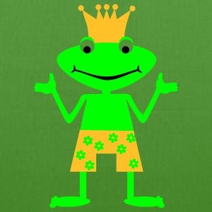 Frog Prince loss Bags  - EarthPositive Tote Bag