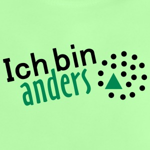 Ich bin anders - 2farb Baby T-Shirts - Baby T-Shirt