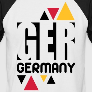 Germany Designs T-Shirts - Männer Baseball-T-Shirt