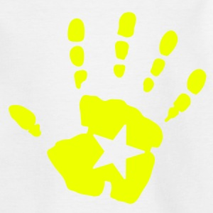 Hand Handabdruck  Kinder T-Shirts - Teenager T-Shirt