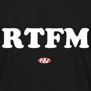 RTFM (Read the F**king Manual) - Men's T-Shirt