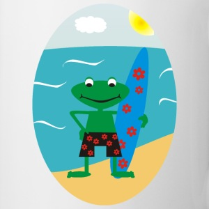 Frog Surfer Mugs  - Mug