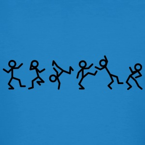 Dancing stick figure T-Shirts - Men's Organic T-shirt