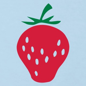 Strawberry - Strawberries - Fruit - Fruits - Kids' Organic T-shirt