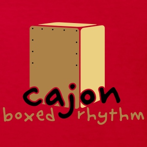 Cajon Rhythm Box Barn-T-shirts - Ekologisk T-shirt barn