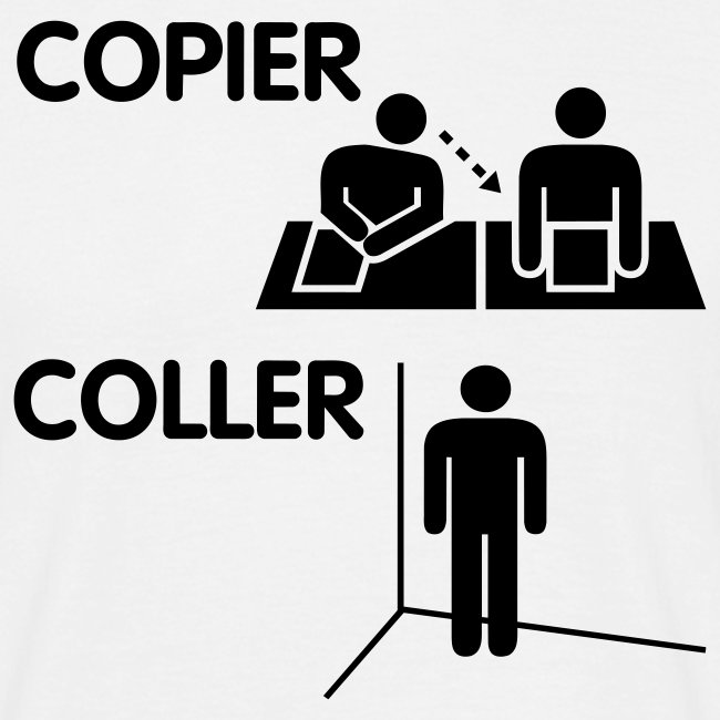 Copier coller - Homme